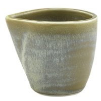 Terra Porcelain Matt Grey Jug 9cl/3oz