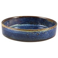 Terra Porcelain Aqua Blue Presentation Bowl 18cm