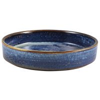 Terra Porcelain Aqua Blue Presentation Bowl 20.5cm