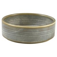 Terra Porcelain Matt Grey Presentation Bowl 13cm