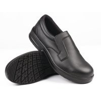 Lites Safety Slip On Black
