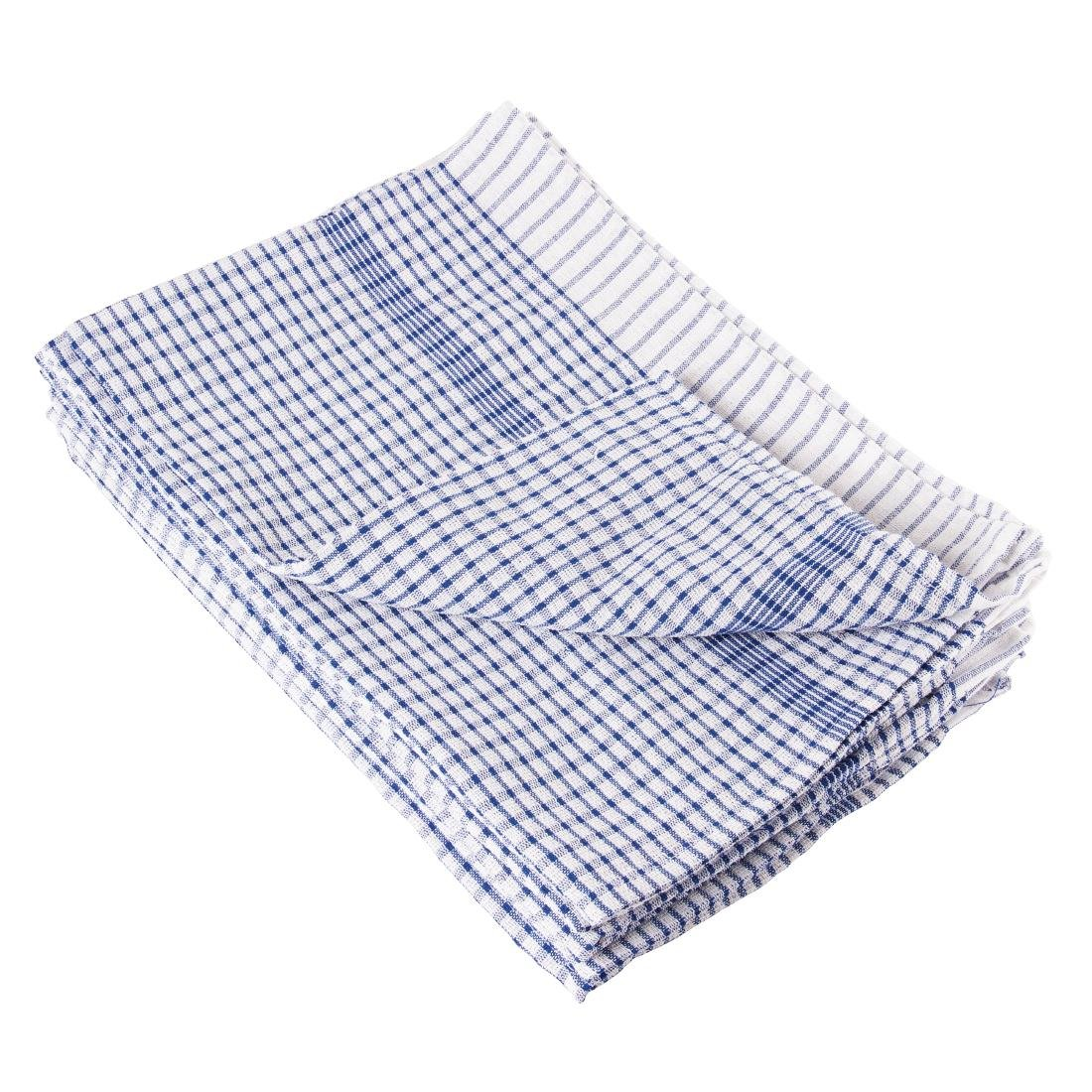 Wonderdry Tea Towels Blue (Pack of 10)