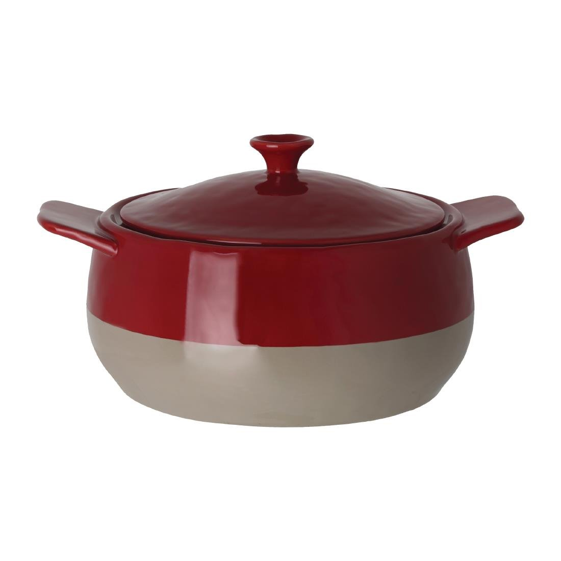 Olympia Cookware Mini 2-tone Cocotte with Lid         17.2x12.6x8.6cm
