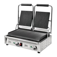 Buffalo Contact Grill Double Ribbed/Flat