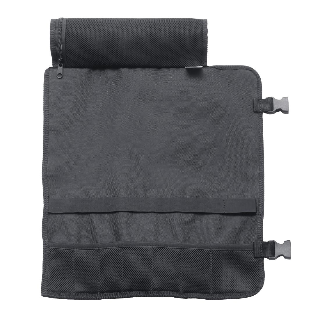 Dick Black Textile Roll Bag 6 Slots