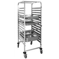 Vogue Gastronorm Racking Trolley 15 Level
