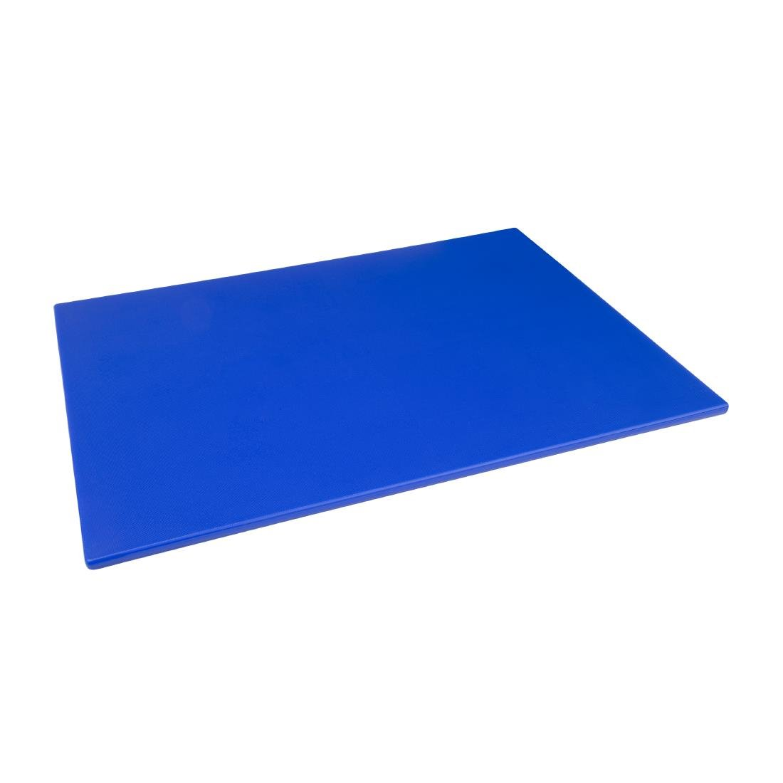 Hygiplas Low Density Chopping Board Blue - 600x450x10mm