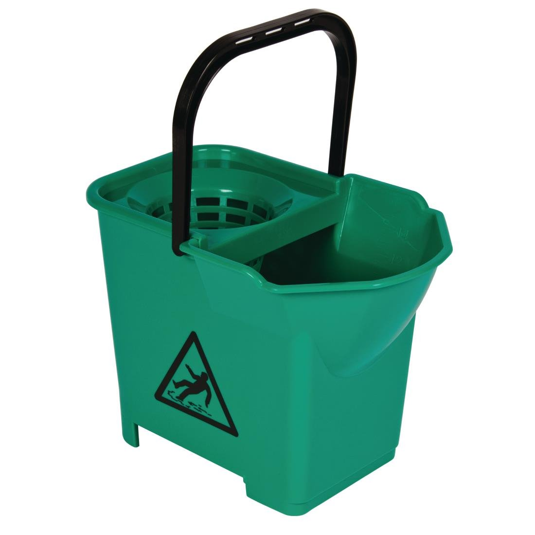 Jantex Colour Coded Mop Bucket Green