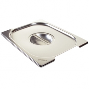 Vogue Stainless Steel 1/2 Gastronorm Handled Pan Lid