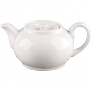 Olympia Whiteware Teapots 852ml 30oz (Box 4)