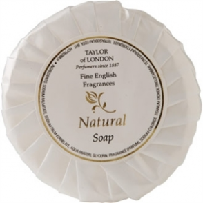 Natural Range Tissue Pleat Soap (Box 100)