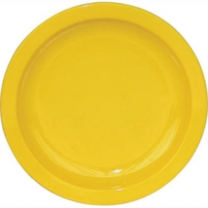 Kristallon Polycarbonate Plate Yellow 172mm (Box 12)