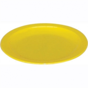 Kristallon Polycarbonate Plates Yellow 230mm (Box 12)