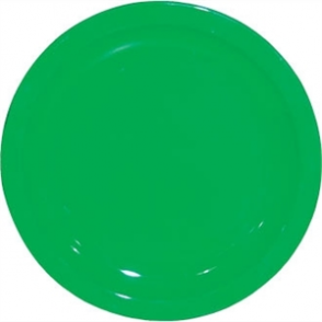 Kristallon Polycarbonate Plate Green 230mm (Box 12)