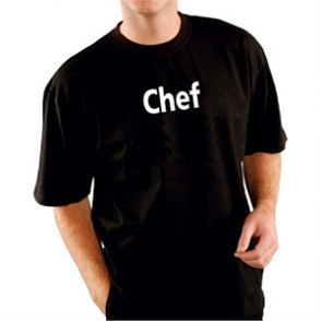 Kitchen Team Chef T Shirt Black