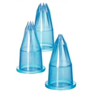 Piping Tubes Fluted set of 6