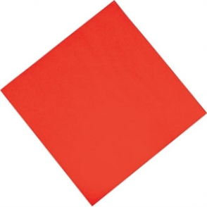 Katrin Professional Tissue Napkin Red - 400x400mm 3 ply 1/4 fold (Box 1000)