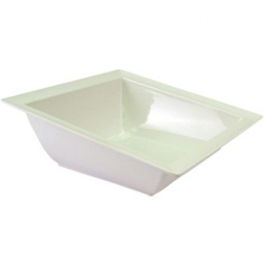 White Angled Dover Bowl - 375x375x140mm