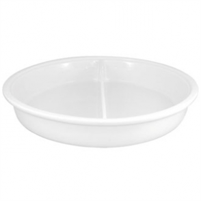 Olympia Whiteware Divided Round Dish - 383x65mm 3500ml (Box 1)