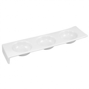 3 Bowl Dipping Platters 325mm (Box 4)