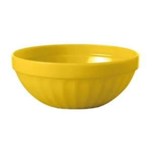Kristallon Polycarbonate Bowls Yellow 102mm (Box 12)