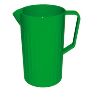 Kristallon Polycarbonate Jug Green 1.4Ltr (Sold Single)