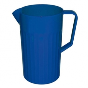 Kristallon Polycarbonate Jug Blue 1.4Ltr (Sold Single)