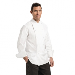Chef Works Madrid Unisex Chef Jacket White