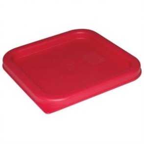 Square Lid Red Medium
