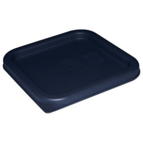 Square Lid Blue Medium