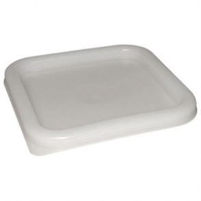 Square Lid White Medium