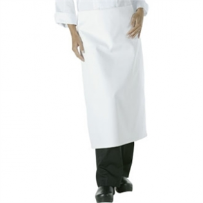 Chef Works Long 4way Waist Apron White