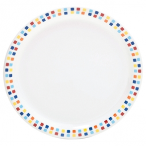 Carlisle Spanish Tile Dinner Plates 230mm (Box 48)