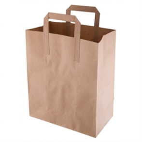 Recycled Brown Paper Bags (Box 250)