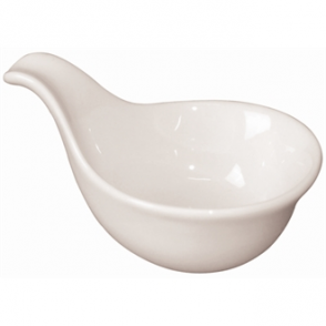 Olympia Miniature Spoon Shape Dipping Bowls 83x 62mm (Box 12)