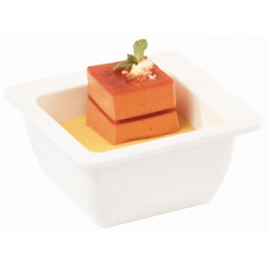"APS Apart 6"" Melamine Square Bowl (Single)"
