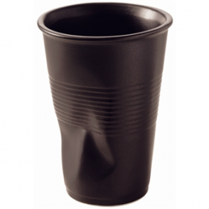 Revol Froisses Water Tumblers Black 250ml (Box 6)