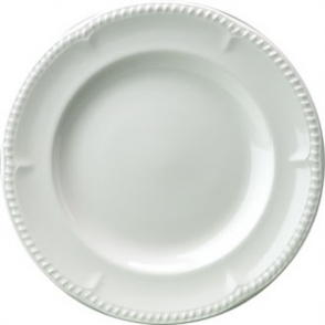 Buckingham White Plate 254mm (Box 24)