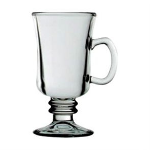 Venezia Coffee Glass Handled - 225ml 8oz (Box 12)