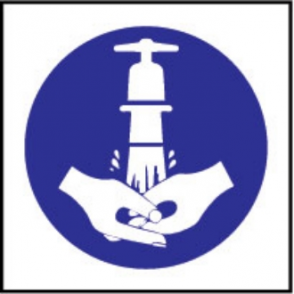 Wash Hands Symbol Sign