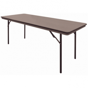 Bolero ABS Folding Banquet Rectangular Table 6 Foot