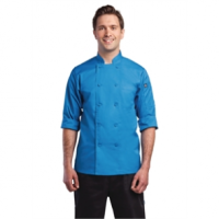 Chef Works Unisex Chefs Jacket Blue