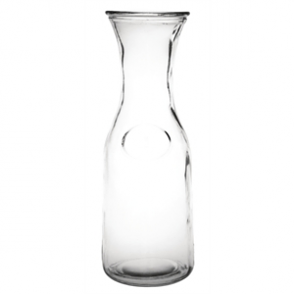 Olympia Glass Carafe 1Ltr (Box 6)