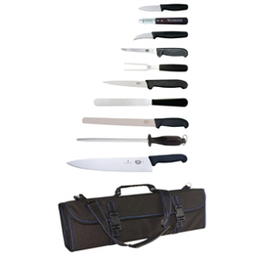 Victorinox 11 Piece Knife Set & Wallet