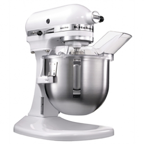 KitchenAid K5 Commercial Mixer White