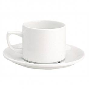 "Churchill Whiteware Saucers 7.5"" (Maple) (Box 24)"