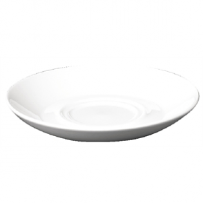 Churchill Plain Whiteware Large Saucers 165mm (Box 24)