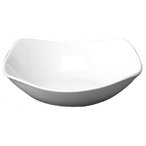 Churchill Plain Whiteware X Squared Bowls 235mm (Box 12)