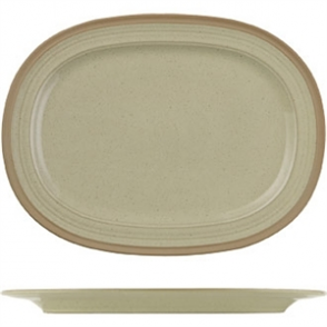 Churchill Igneous Stoneware Oval Plates 355mm (Box 6)
