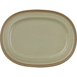 Churchill Igneous Stoneware Oval Plates 320mm (Box 6)